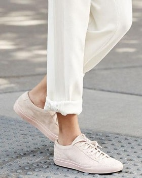 Blush Suede Shoes